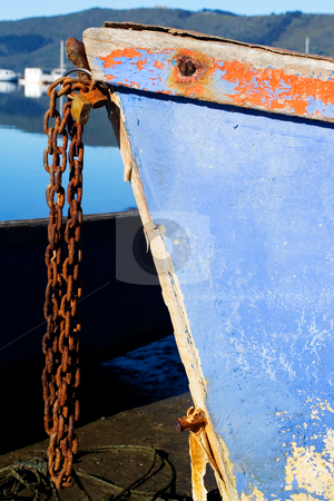 Harbour #8 stock photo, Anchor chains on Hermanus Harbour, South Africa by Sean Nel