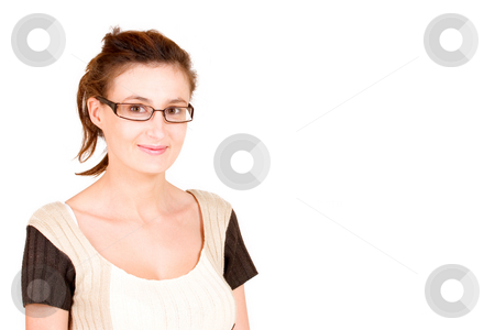 Business Lady #91 stock photo, Business woman with glasses by Sean Nel