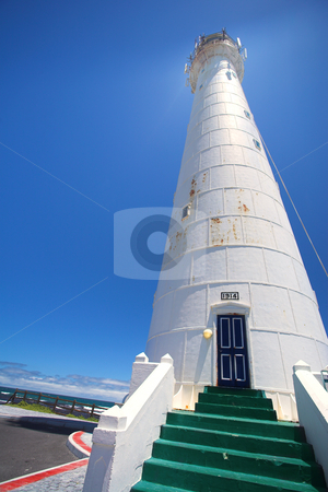 Lighthouse #4 stock photo, The Slangkop Lighthouse at Kommetjie, Western Cape. The Tallest Lighthouse in South Africa by Sean Nel