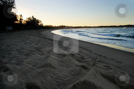 Sunset in Moz stock photo, Sunset in mozambique by Sean Nel