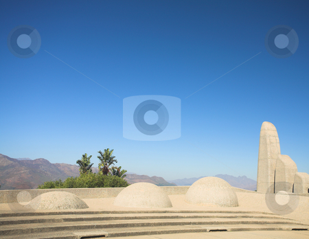 Landmark of the Afrikaans Language Monument stock photo, Famous landmark of the Afrikaans Language Monument in Paarl, Western Cape, South Africa by Sean Nel