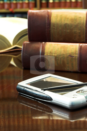Legal books #28 stock photo, Legal books on table - South African Law Reports by Sean Nel