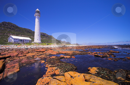Lighthouse #1 stock photo, The Slangkop Lighthouse at Kommetjie, Western Cape. The Tallest Lighthouse in South Africa by Sean Nel