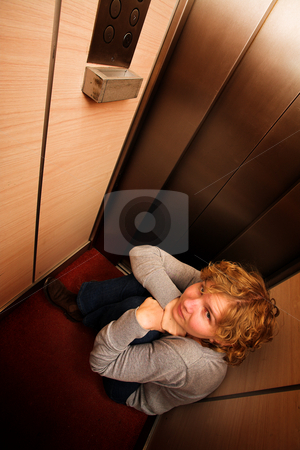Claustrophobia stock photo, Trapped! by Sean Nel