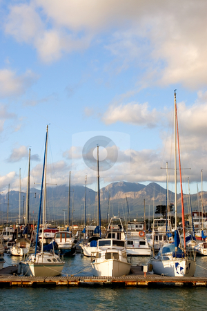 Harbour #16 stock photo, Boats at Knysna Harbour, South Africa by Sean Nel