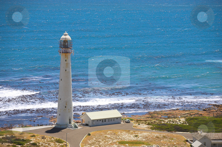 The Slangkop Lighthouse stock photo, The Slangkop Lighthouse at Kommetjie, Western Cape. The tallest lighthouse in South Africa by Sean Nel