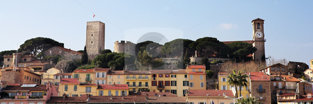 Cannes #7 stock photo, The skyline from the harbour square in Cannes, France by Sean Nel