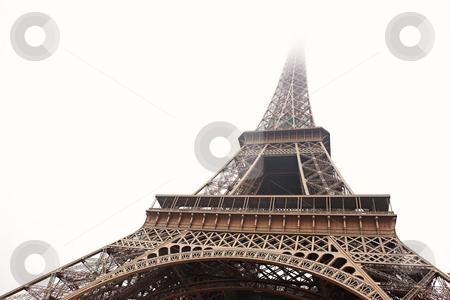 Paris #16 stock photo, The Eiffel Tower in Paris, France. Copy space. by Sean Nel