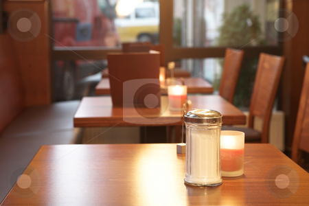 Munich #49 stock photo, Table of a restaurant. Shallow DOF. by Sean Nel