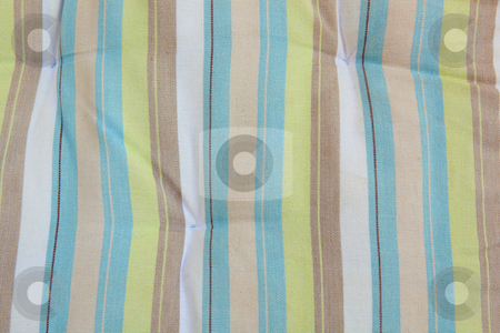 Striped material background stock photo, Colorful striped material background by Sean Nel