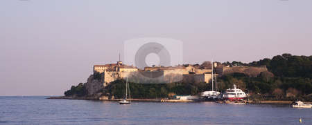 Isledemarguerite #3 stock photo, The famous Ile Sainte Marguerite Island Jail, across from Cannes, France by Sean Nel