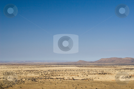 Travel #1 stock photo, Landscape of a dry area in South Africa by Sean Nel