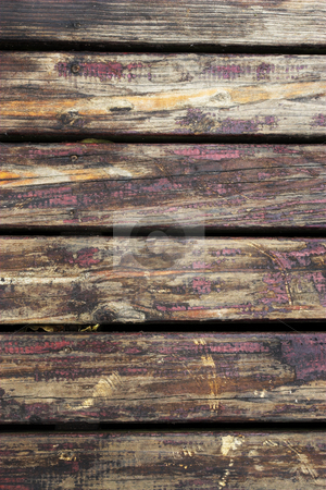 Sudwana #2 stock photo, Close-up of a wooden deck. by Sean Nel