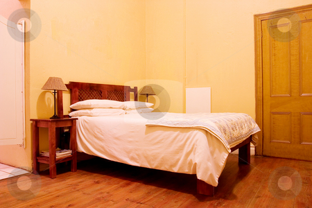 Interior #3 stock photo, Interior of room with wooden floors by Sean Nel