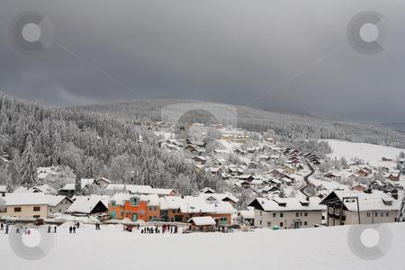 Snow Landscape #8 stock photo, Ski Resort in Kirchberg by Sean Nel