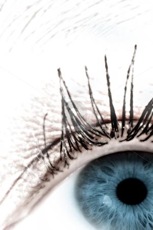 Eye #4 stock photo, Digital eye - Artwork, not photograph by Sean Nel