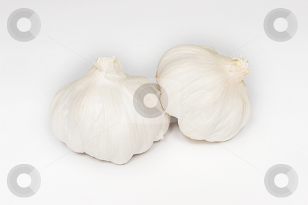 Garlic #3 stock photo, Whole Garlic Cloves by Sean Nel
