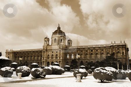 Vienna #9 stock photo, The Museum of Fine Arts in Vienna, Austria by Sean Nel
