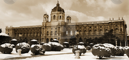 Vienna #10 stock photo, The Museum of Fine Arts in Vienna, Austria by Sean Nel