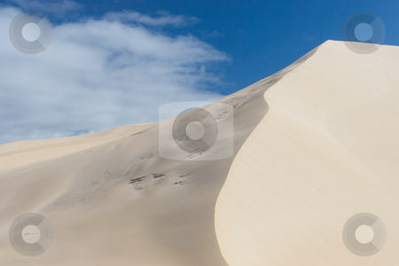 Dunes #7 stock photo, River next to the sand dunes by Sean Nel