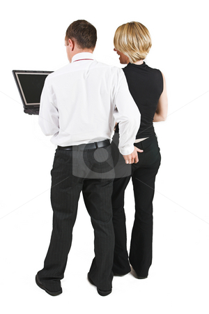 Business People #1 stock photo, Sexual Harrasment by Sean Nel