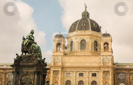 Vienna #5 stock photo, The Museum of Fine Arts in Vienna, Austria by Sean Nel