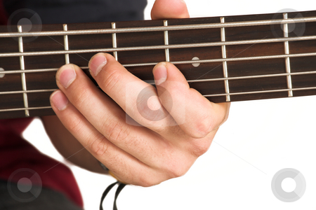 Franscois Booysen #9 stock photo, Close-up of person playing guitar. by Sean Nel