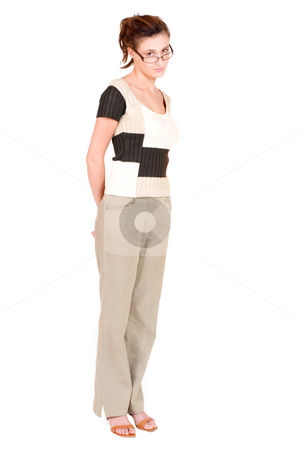 Business Lady #108 stock photo, Business woman with glasses by Sean Nel