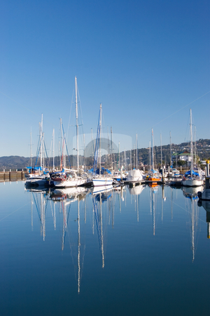 Harbour #12 stock photo, Boats at Knysna Harbour, South Africa by Sean Nel