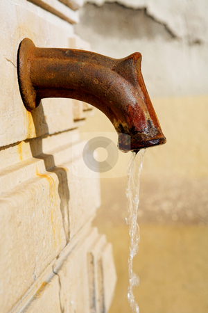 Cannes #14 stock photo, Old public drinking fountain in Cannes, France by Sean Nel
