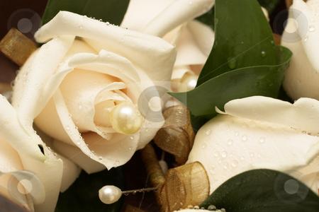 Wedding #14 stock photo, Wedding - flower decoration by Sean Nel