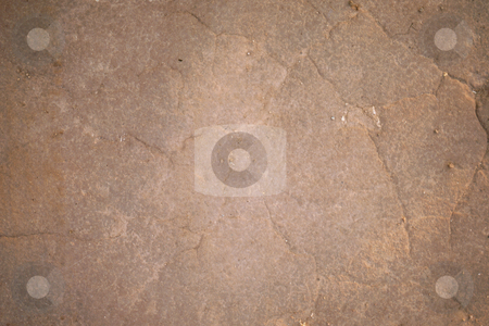 Rockface stock photo, Brown cracked rockface by Sean Nel