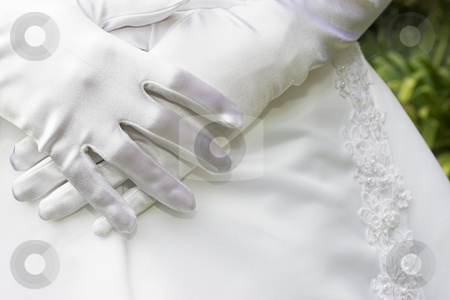 Gloves #3 stock photo, Satin Gloves by Sean Nel