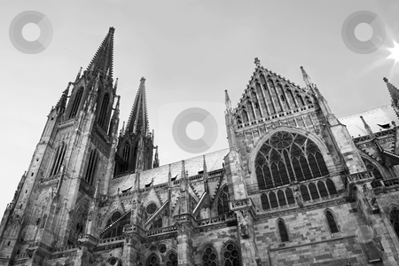 Regensburg#34 stock photo, Cathedral in Regensburg, Germany by Sean Nel