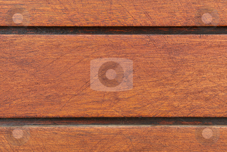 Striped wooden background stock photo, Dark brown wooden striped background by Sean Nel