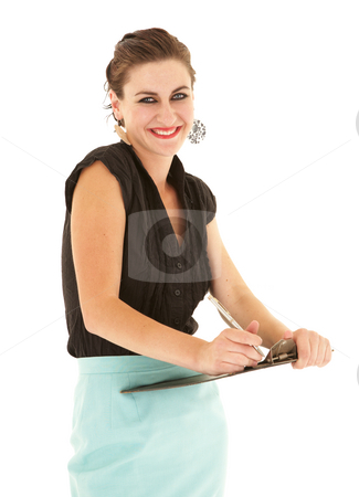 Young adult businesswoman
