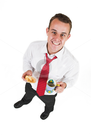 Businessman #34 stock photo, Business man taking a break by Sean Nel