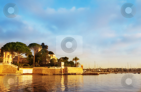 Juan Les Pins #24 stock photo, Private Harbour in Juan Les Pins - France by Sean Nel