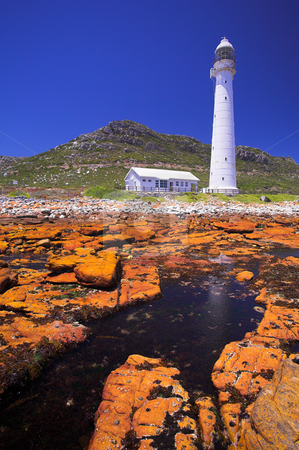 Lighthouse #5 stock photo, The Slangkop Lighthouse at Kommetjie, Western Cape. The Tallest Lighthouse in South Africa by Sean Nel