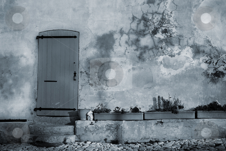 Isledemarguerite #19 stock photo, An old door in the famous Ile Sainte Marguerite  by Sean Nel