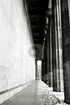 Regensburg15 stock photo, Pillars in Regensburg, Germany by Sean Nel