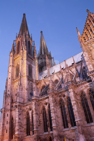 Regensburg#38 stock photo, Cathedral in Regensburg by Sean Nel