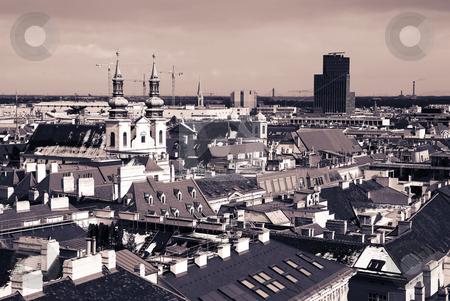 Vienna #61 stock photo, The Vienna Skyline, Austria - Moody by Sean Nel
