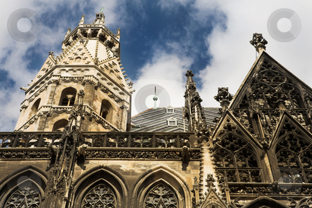 Vienna #49 stock photo, The towers of St Stephens DOM - Vienna, Austria by Sean Nel