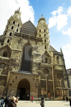 Vienna #46 stock photo, St Stephens DOM - Vienna, Austria by Sean Nel