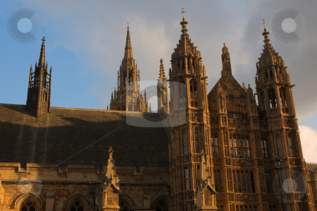 Westminster #9 stock photo, The buildings of the House of Parliament by Sean Nel