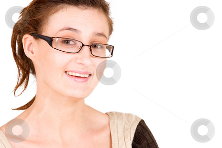 Business Lady #98 stock photo, Business woman with glasses by Sean Nel