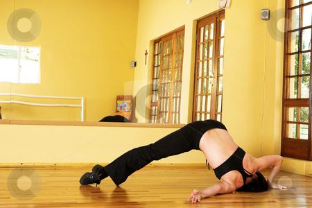 Dancer #15 stock photo, A Female Dancer practicing in her studio by Sean Nel