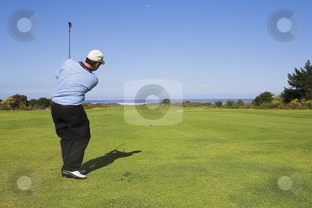 Golf #20 stock photo, Man playing golf by Sean Nel