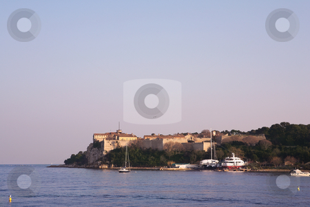 Isledemarguerite #2 stock photo, The famous Ile Sainte Marguerite Island Jail, across from Cannes, France by Sean Nel